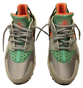 Nike Huarache New Grey/Mint/Orange Athletic