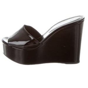 Sergio Rossi Black Wedges