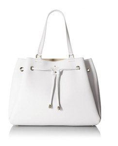 Kate Spade Space Bucket Tote in White