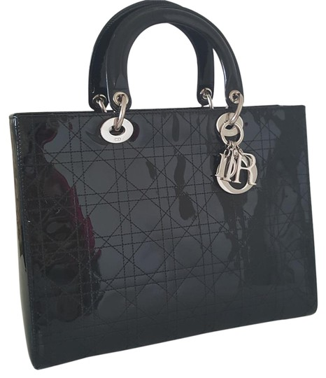 Preload https://item3.tradesy.com/images/dior-lady-dior-lady-patent-cannage-large-black-leather-tote-19355682-0-2.jpg?width=440&height=440