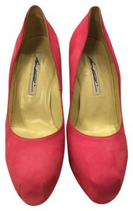 Brian Atwood Fuchsia Suede Pumps