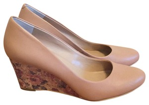 Kelly & Katie Nude Wedges