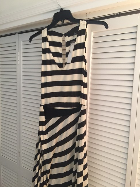 Black White Maxi Dress by Sugarlips