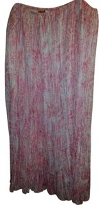 Ruby Rd. Crinkle Abstract Skirt