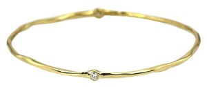 Ippolita IPPOLITA 2 DIAMOND BANGLE 18K YELLOW GOLD
