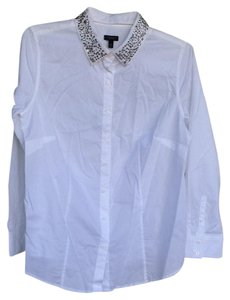 83b1f01996 White Talbots Tops - Up to 70% off a Tradesy