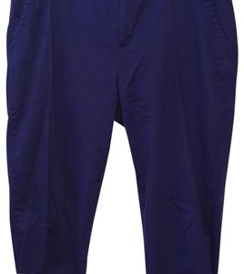 Liz Claiborne Capri/Cropped Pants Blue/Purple