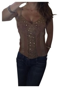 Marciano Top Brown/Bronze/Gold