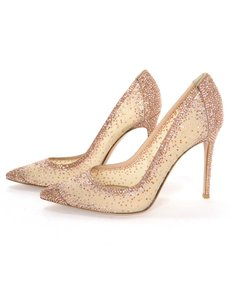 Gianvito Rossi Crystal Mesh New Pumps