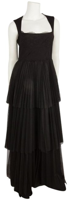 Preload https://img-static.tradesy.com/item/19356380/givenchy-black-tiered-tulle-gown-with-lace-detail-bust-long-formal-dress-size-6-s-0-1-650-650.jpg