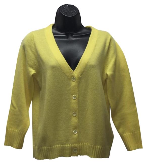 Preload https://img-static.tradesy.com/item/19356411/jcrew-yellow-boyfriend-cardigan-size-10-m-0-1-650-650.jpg