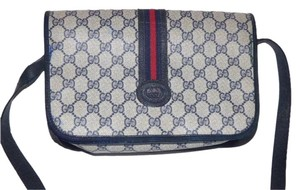 Gucci Popular Style Perfect Everyday Excellent Vintage Rare Print For Style Cross Body Bag