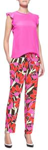Kate Spade Relaxed Pants Tropical Floral