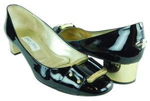 Jimmy Choo Patent Leather Black Pumps