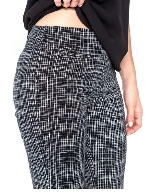 Margaret M Emer Stitch Fix Skinny Pants Black and White