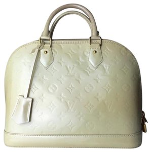 Louis Vuitton Lv Satchel in ivory
