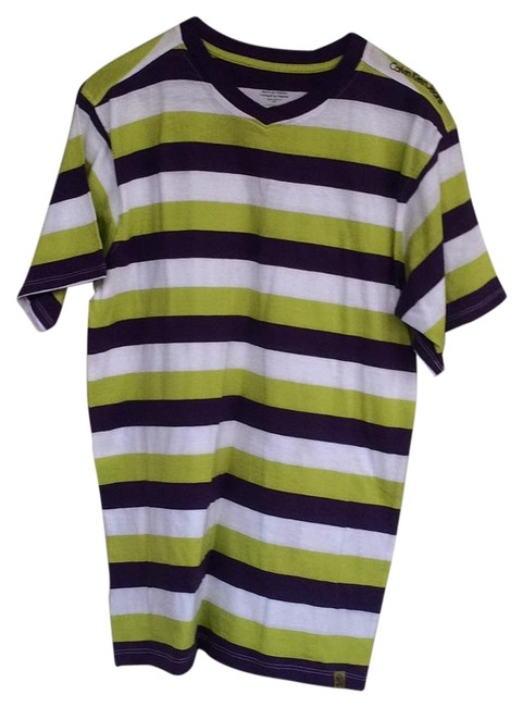Preload https://item3.tradesy.com/images/calvin-klein-purple-green-and-white-tee-shirt-size-12-l-19356567-0-1.jpg?width=400&height=650