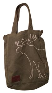 abercrombie kids Canvas Embroidered Tote
