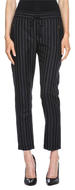 Preload https://img-static.tradesy.com/item/19356597/stella-mccartney-black-taylor-pinstripe-drawstring-wool-blend-trousers-pants-size-6-s-28-0-2-650-650.jpg