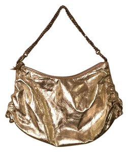 Banana Republic Metallic Night Out Shoulder Bag