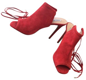 Steve Madden Red Boots