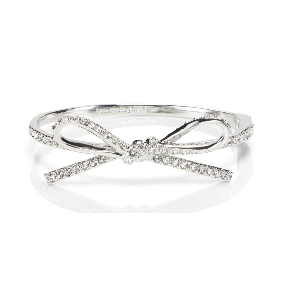 Kate Spade Skinny Mini Pave Bow Bangle