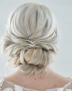 Bohemian Bridal Hair Chain