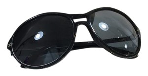 Chanel Black Round Sunglasses
