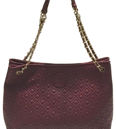 Preload https://img-static.tradesy.com/item/19356719/tory-burch-marion-tote-red-agate-leather-shoulder-bag-0-1-540-540.jpg