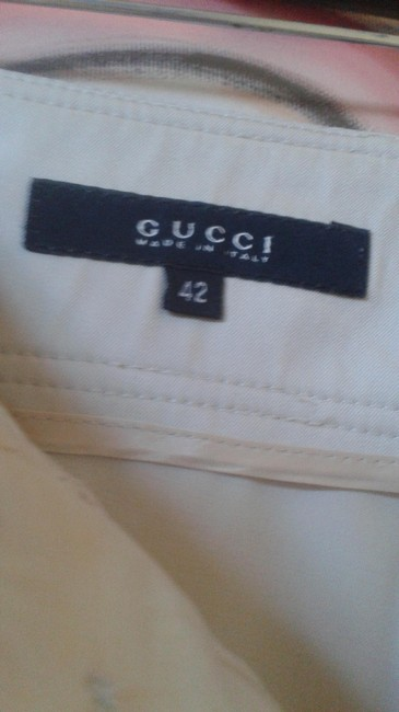 Gucci Straight Pants beige