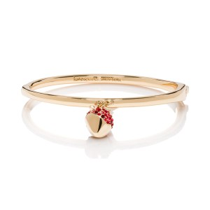 Kate Spade Outside the Box Strawberry Bangle, Red Multi