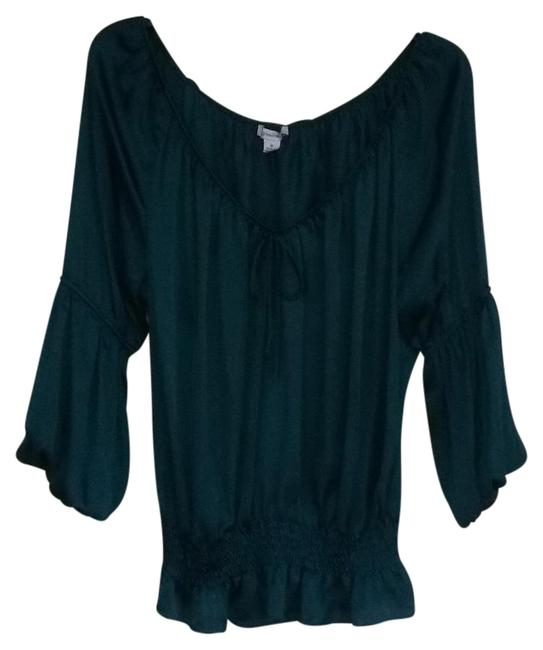 Preload https://item1.tradesy.com/images/dress-barn-green-night-out-top-size-8-m-19356825-0-1.jpg?width=400&height=650