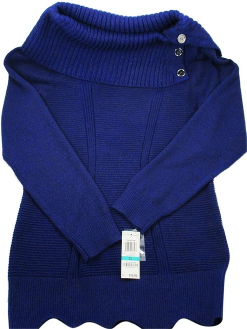 Preload https://item3.tradesy.com/images/style-and-co-blue-sapphire-tunic-size-16-xl-plus-0x-19356927-0-3.jpg?width=400&height=650