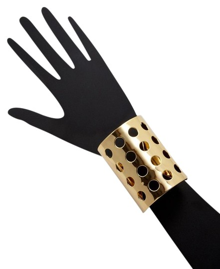 Preload https://item4.tradesy.com/images/cc-skye-gold-perforated-cuff-bracelet-19356938-0-5.jpg?width=440&height=440