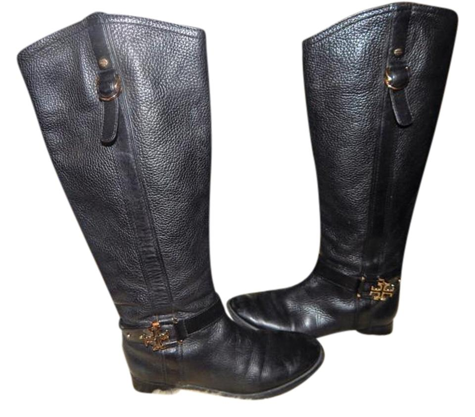 8188c5ce884 Tory Burch High All Leather Boots Booties Size US 8 Regular (M