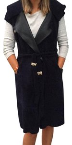 Albertini Reversible Leather Vest Vest