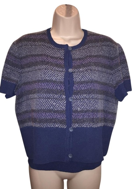 Preload https://img-static.tradesy.com/item/19356966/st-john-sport-by-marie-gray-heather-bluegraypurple-sweaterpullover-size-10-m-0-1-650-650.jpg