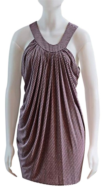 Preload https://item1.tradesy.com/images/anthropologie-purple-and-grey-stripe-draped-grecian-asymmetrical-project-runway-mini-short-casual-dr-19356985-0-1.jpg?width=400&height=650