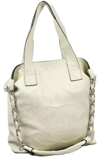 Preload https://item3.tradesy.com/images/chanel-quilted-cc-logos-2way-chain-hand-ivory-leather-tote-19357007-0-1.jpg?width=440&height=440