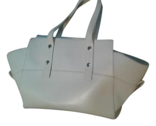 Alberta Di Canio Satchel in white