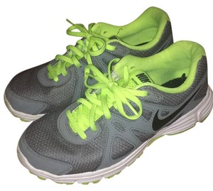 Nike Grey and green Athletic