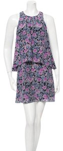 Joie short dress purple, blue, black on Tradesy
