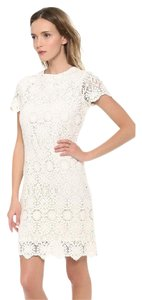 Tory Burch short dress White Dvf Alice + Olivia Elizabeth And James Lace on Tradesy