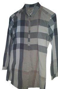 Burberry Brit T Shirt Brown and green