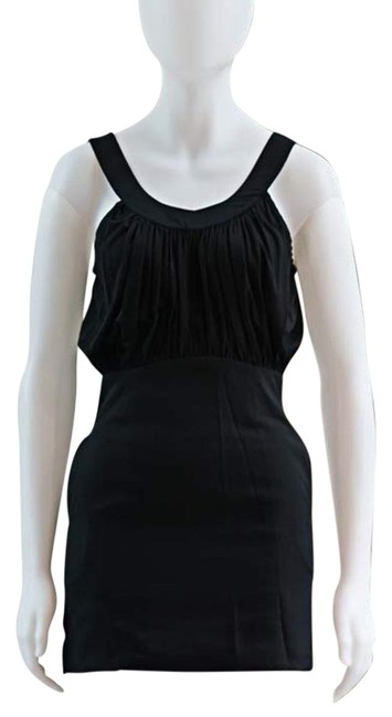 Preload https://img-static.tradesy.com/item/19357169/anthropologie-black-rare-draped-grecian-project-runway-mini-night-out-dress-size-4-s-0-1-650-650.jpg
