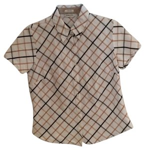 St. John Button Down Shirt Multi
