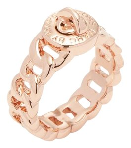 Marc by Marc Jacobs NEW Marc by Marc Jacobs signature Turn Lock Ring rose gold