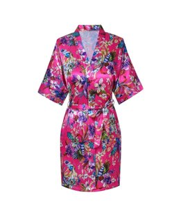 Floral Bridesmaid Robes (set Of 5)