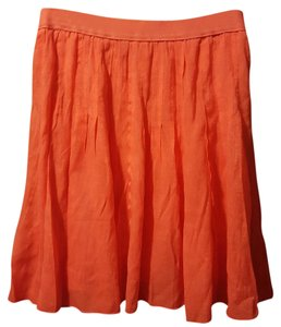 NIC+ZOE Mini Skirt Coral