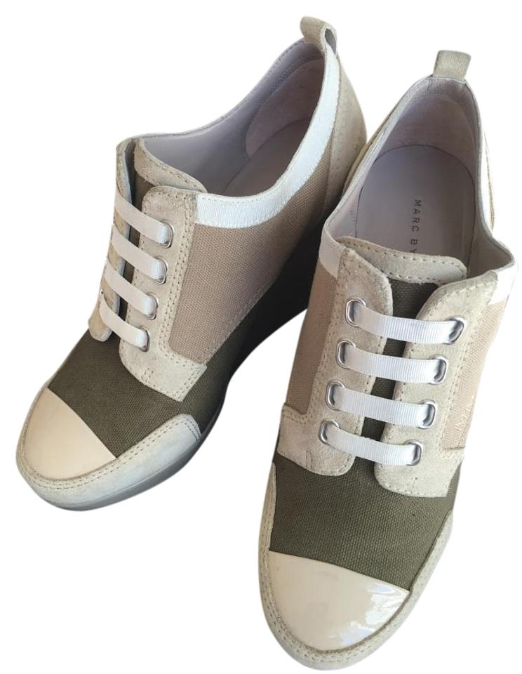 3f354068174 Marc by Marc Jacobs Army Brown Sneakers Wedges. Size  US 5.5 Regular ...